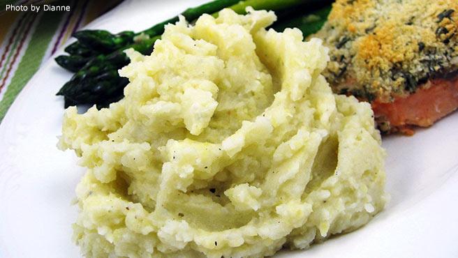 Artichoke Mashed Potatoes