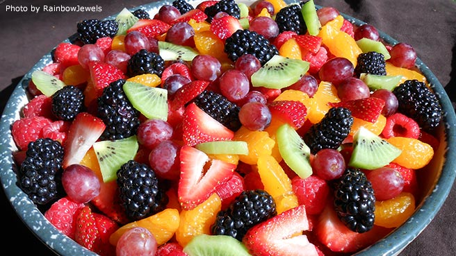 fruit salad recipes are strawberries a fruit