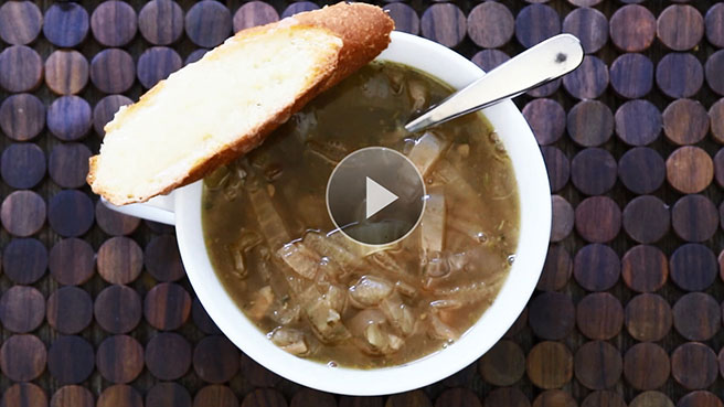 Make Slow Cooker French Onion Soup