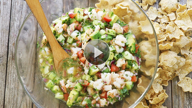 Crazy-Easy Shrimp Ceviche