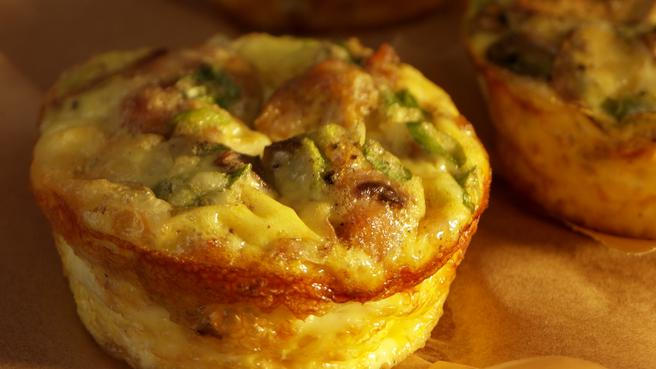 Healthy Gluten-Free Mini Quiches Recipes