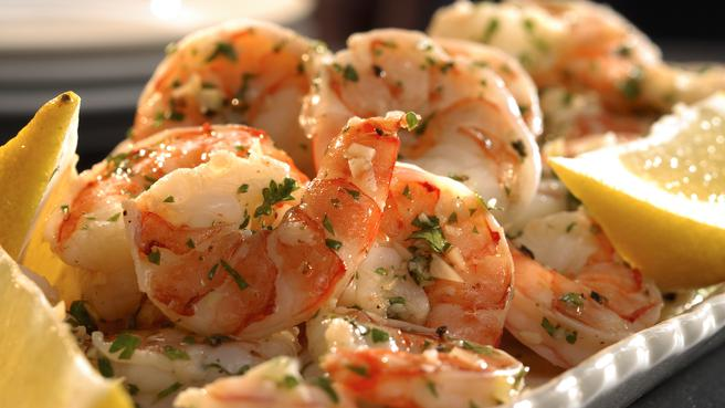 Quick Marinated Shrimp