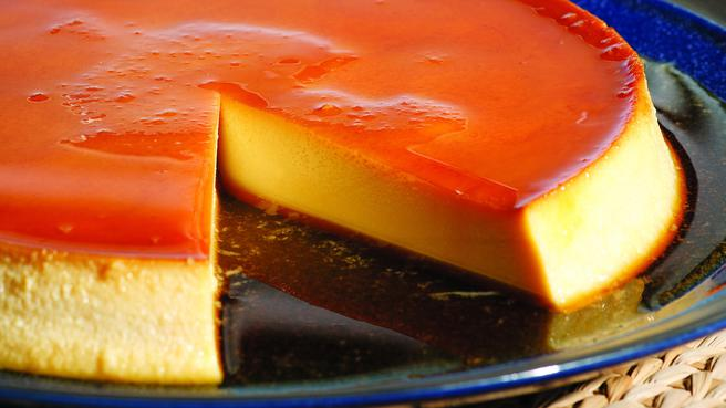 Flan de Queso (Caramel Cheese Custard)