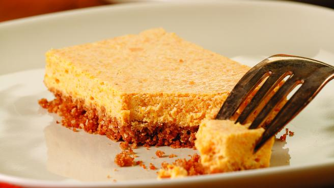 Squash Cheesecake Bars
