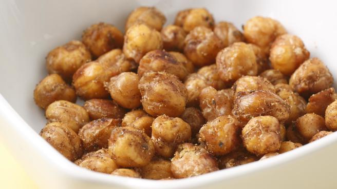 "Crunchy Spiced Chickpea ""Nuts"""