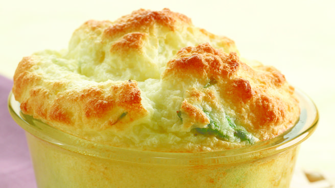 Vegetarian easter recipes eatingwell asparagus goat cheese souffles forumfinder Choice Image