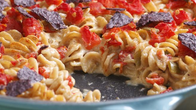 Tuna and Tomato Mac & Cheese
