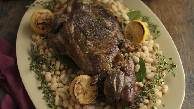 Seven-Hour Leg of Lamb