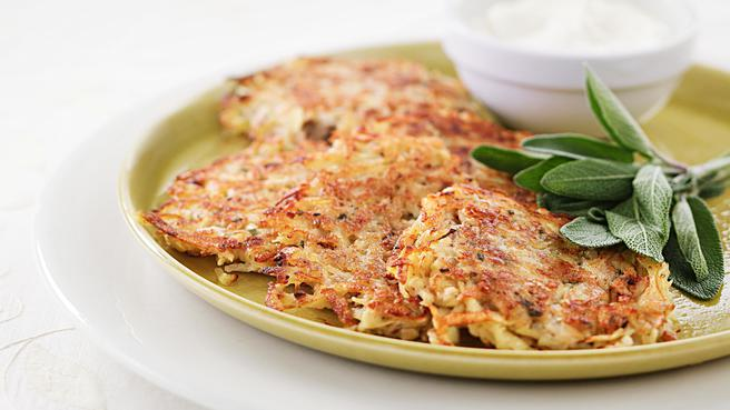 Potato-Pear Latkes
