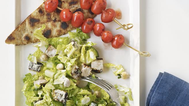 Chopped Tandoori Chicken Salad