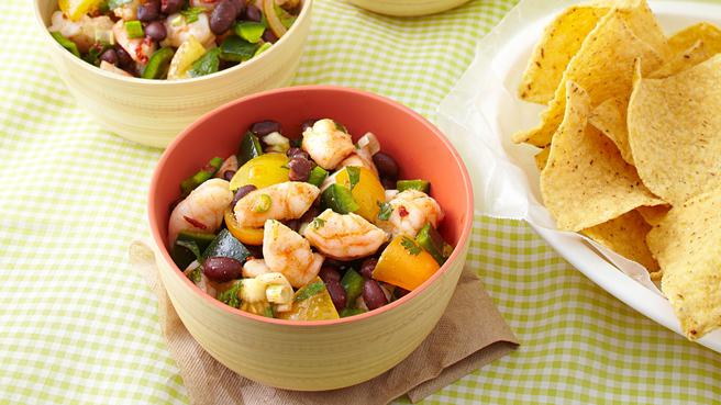Zesty Shrimp & Black Bean Salad