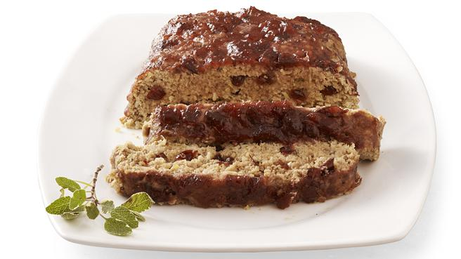 Cranberry-Turkey Meatloaf