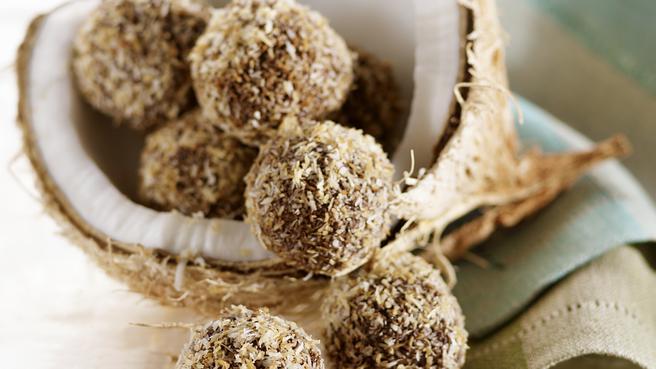 coconut dark chocolate truffles - Christmas Candy Recipes