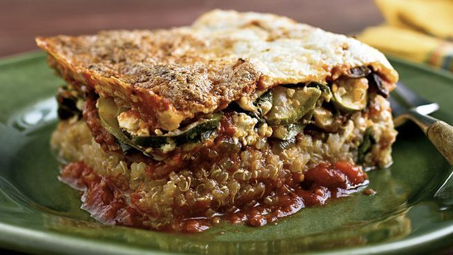 Gluten-Free Lasagna with Quinoa