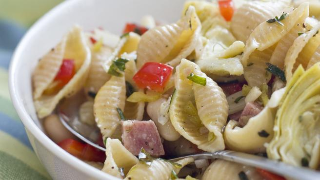 How to Make Healthier Pasta Salad