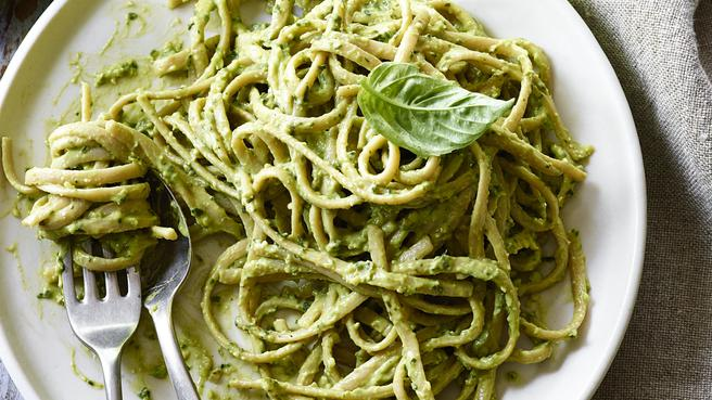 The Best Avocado Pesto