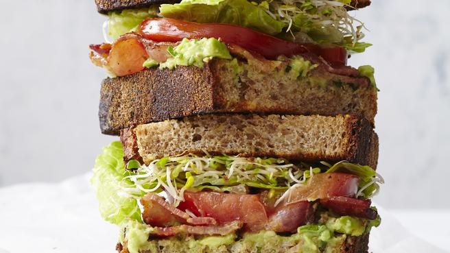 BLATs (Bacon-Lettuce-Avocado-Tomato)