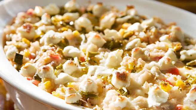 Healthy Zucchini Rice Casserole