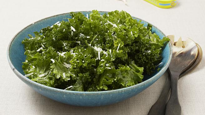 Massaged Raw Kale Salad