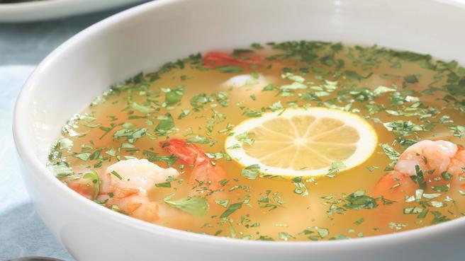Yucatan Lemon Soup