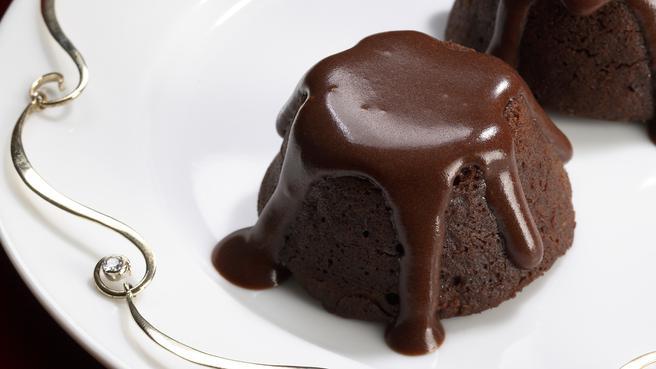 Mini Molten Chocolate Cakes
