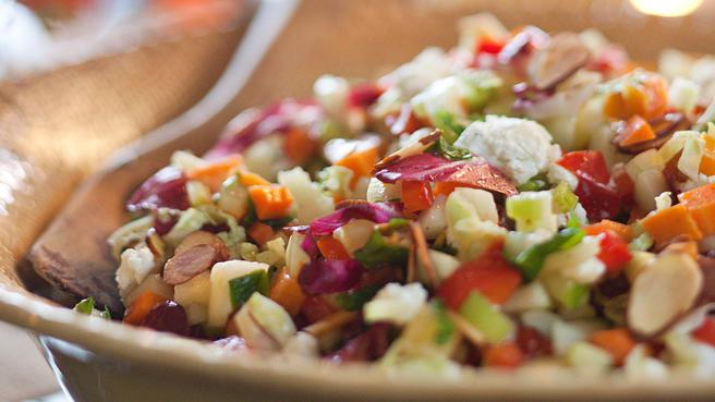 """Use a Spoon"" Chopped Salad"