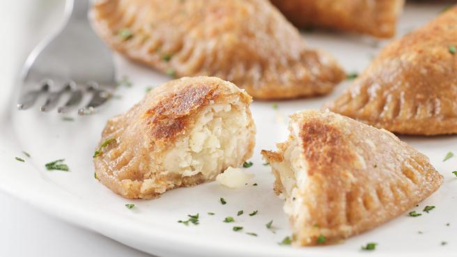 Potato-Cheese Pierogi with Sauerkraut