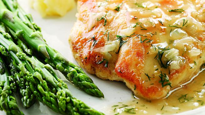 Healthy Dinner: Lemon and Dill Chicken