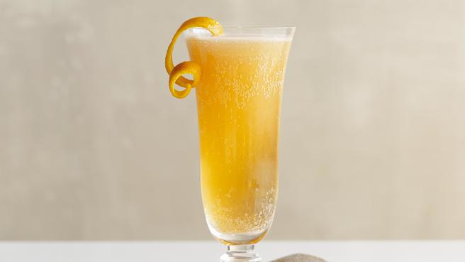 Jack & Sally Sparkling-Wine Cocktail