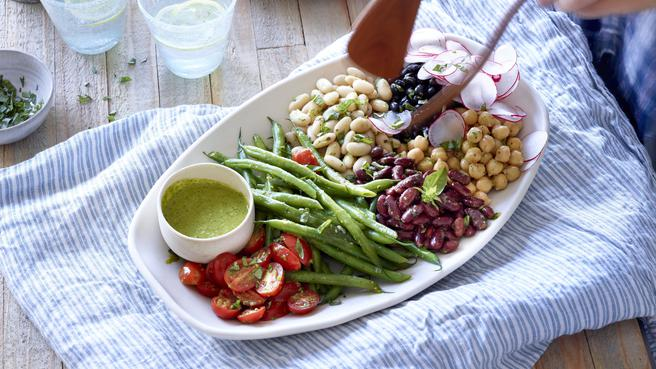 Composed Bean Salad