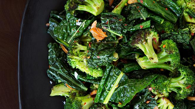 Sauteed Broccoli & Kale
