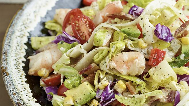 Low-Sodium Avocado & Shrimp Salad