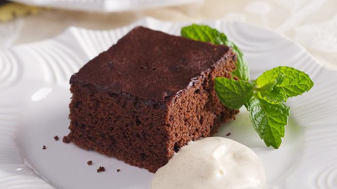 Chocolate-Cinnamon Sheet Cake