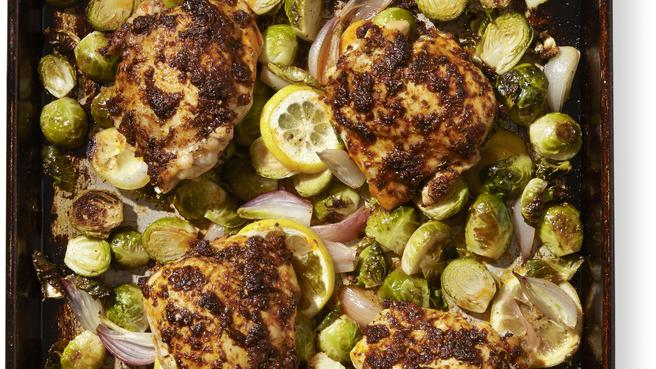 One Pan Paprika Chicken Thighs Gluten Free Recipes