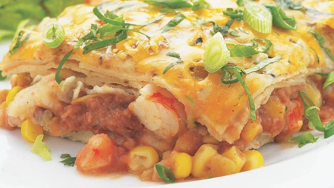 How to Make Quick Shrimp Enchiladas