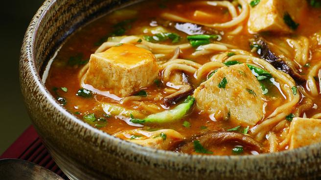 Spicy Tofu Hotpot