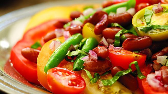 Bean & Tomato Salad