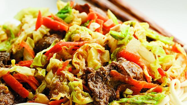 Beef & Cabbage Stir-Fry