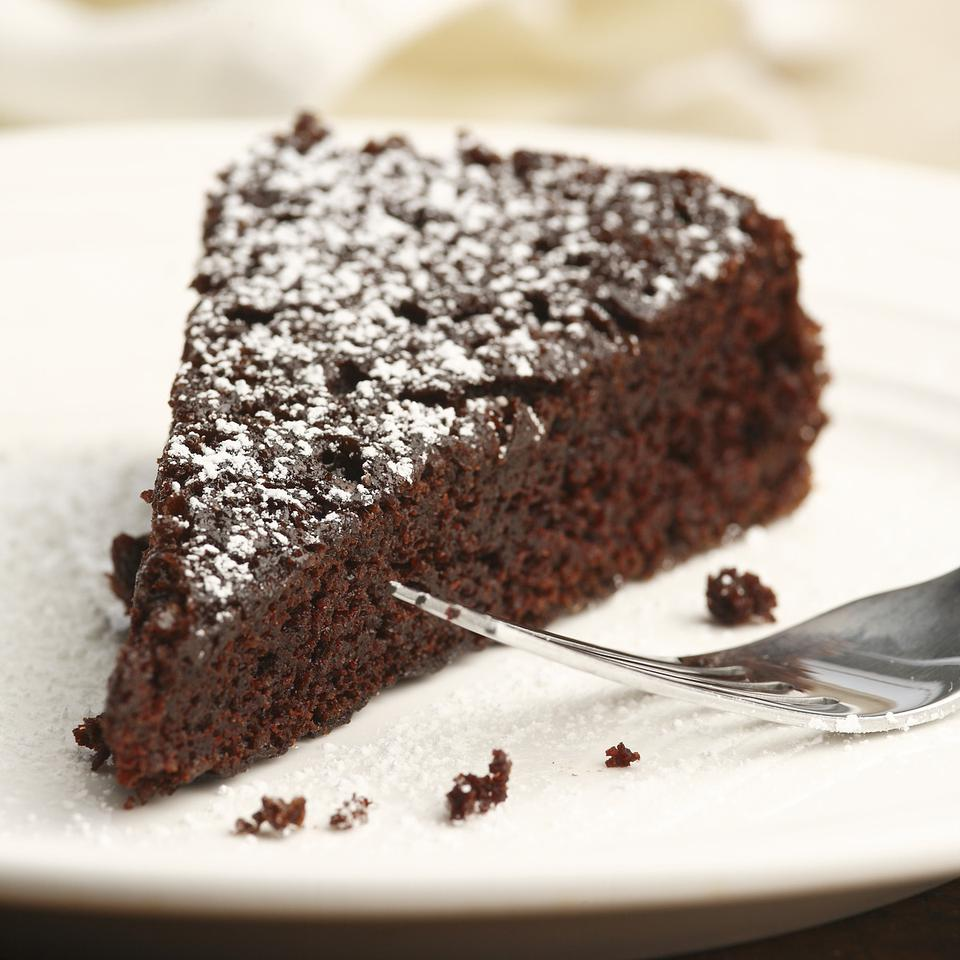 Chocolate Cake With Almond Meal And Cocoa