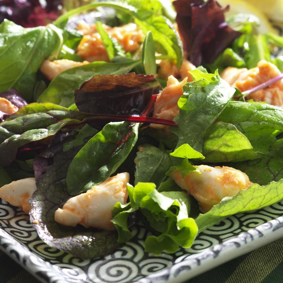 Healthy Seafood Salad
