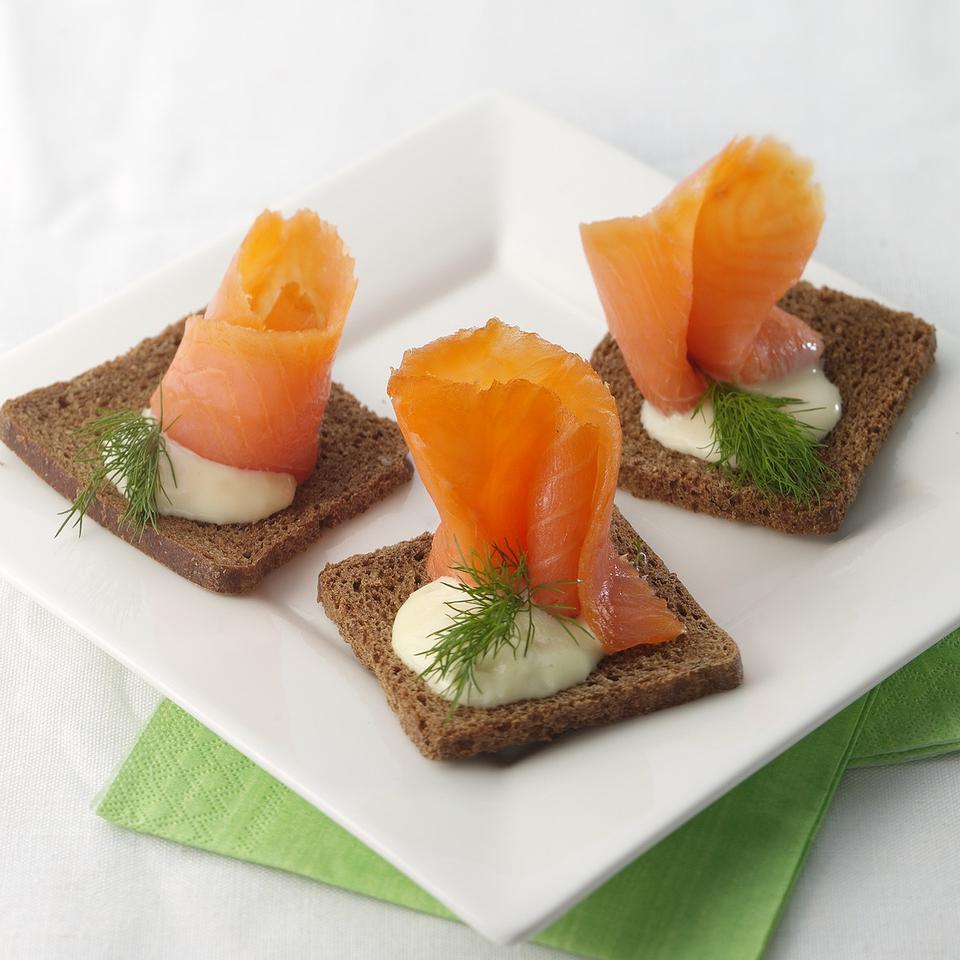 Healthy Salmon Appetizer