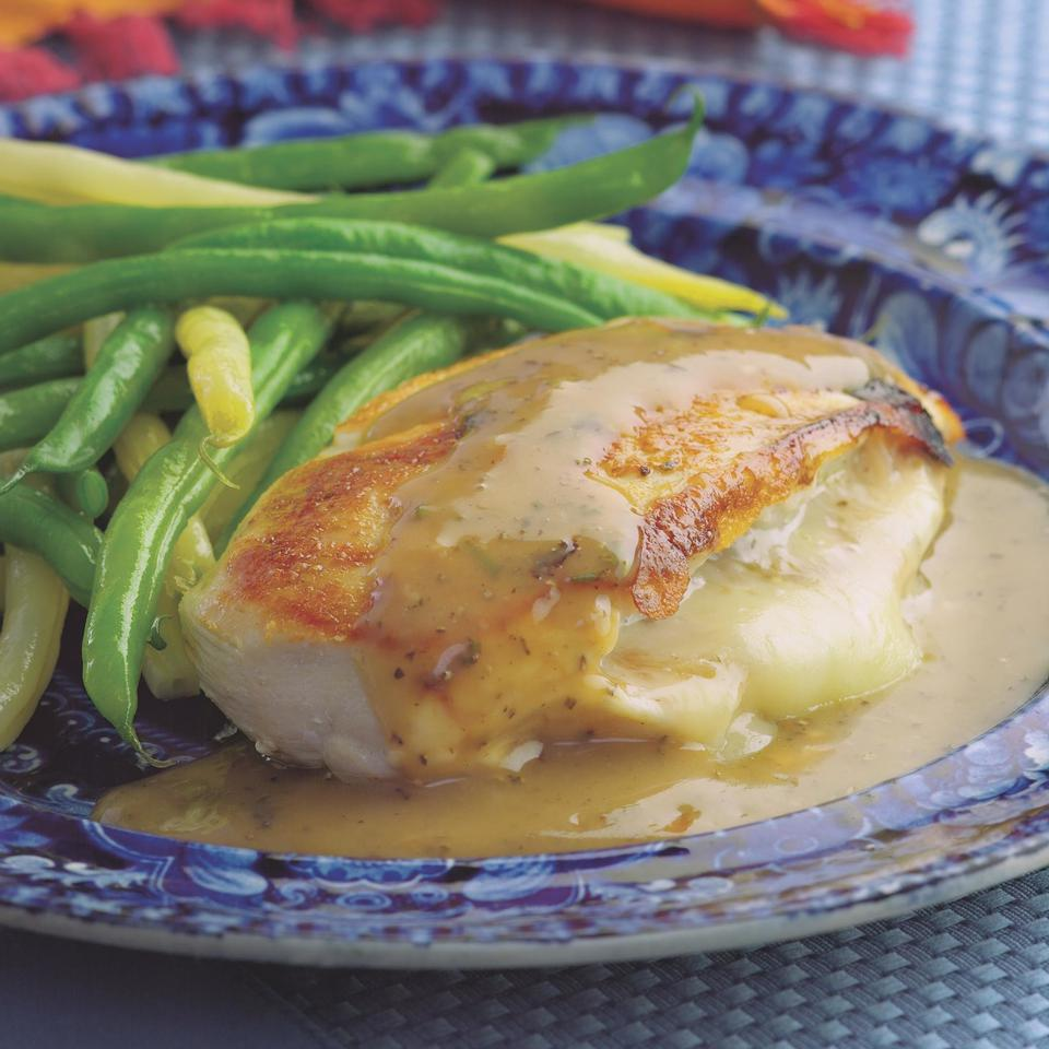 Healthy Stuffed Chicken