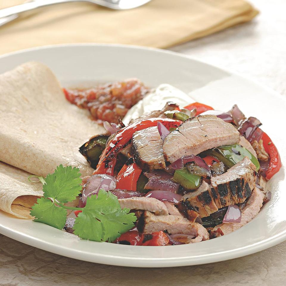 Healthy Fajitas