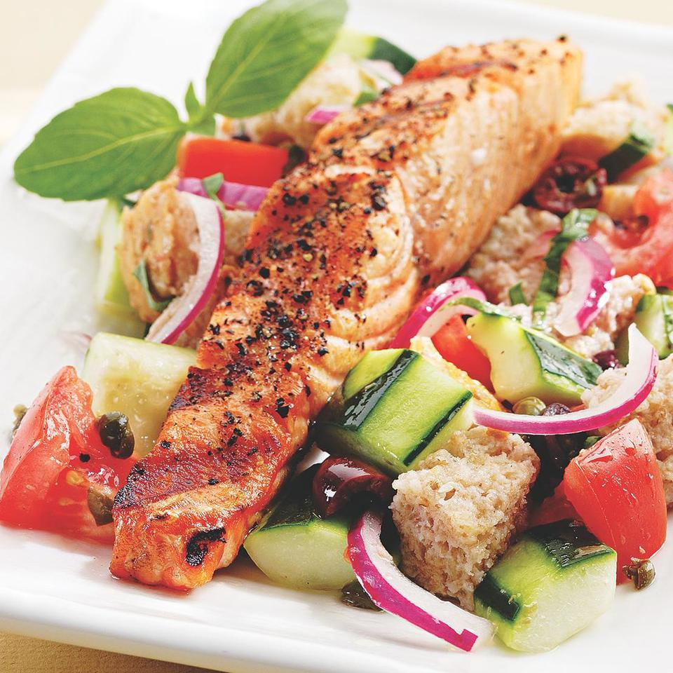 Healthy Salmon Salad Recipes