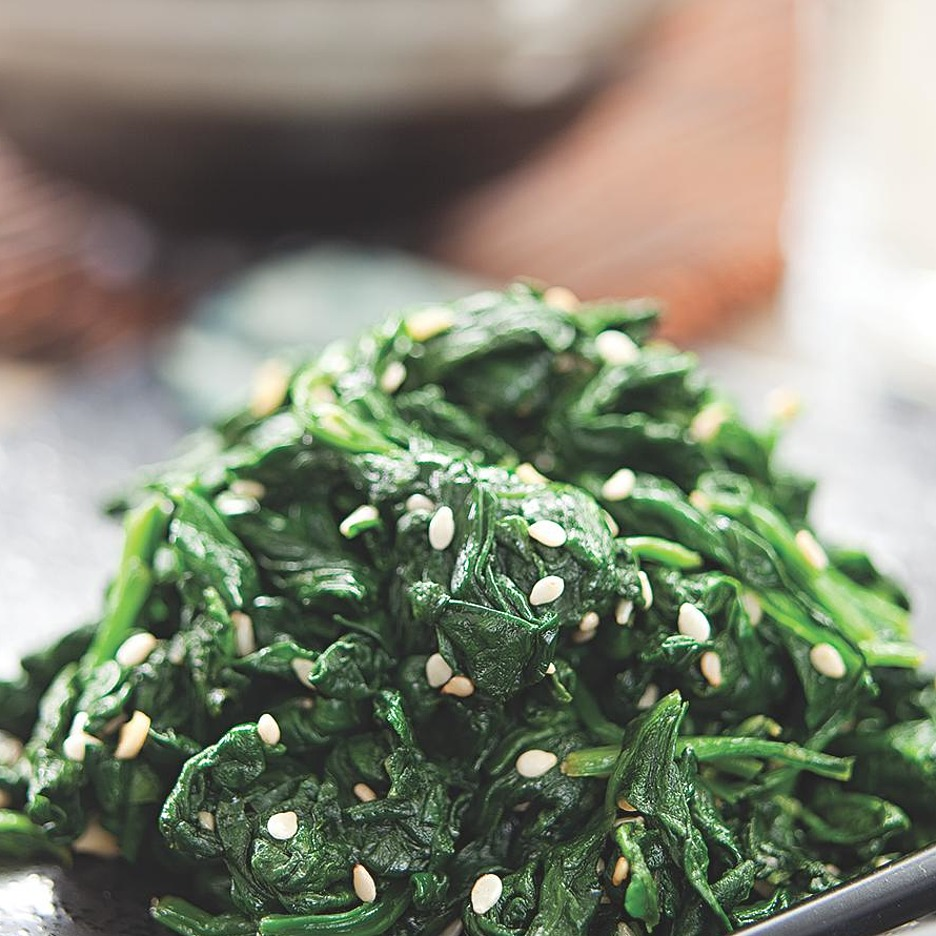 Healthy Spinach Side Dish