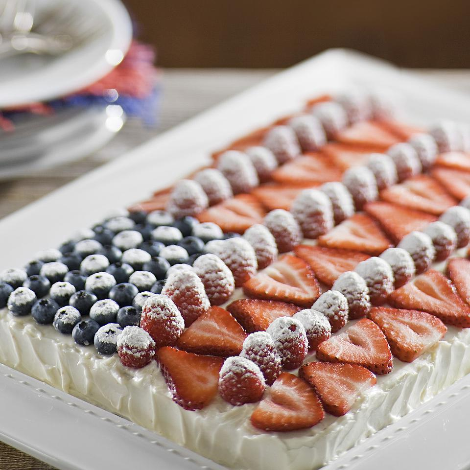 Healthy Patriotic Dessert Recipes