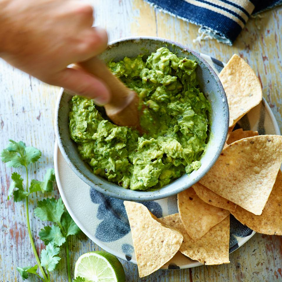 Healthy Super Bowl Chips & Dip Recipes