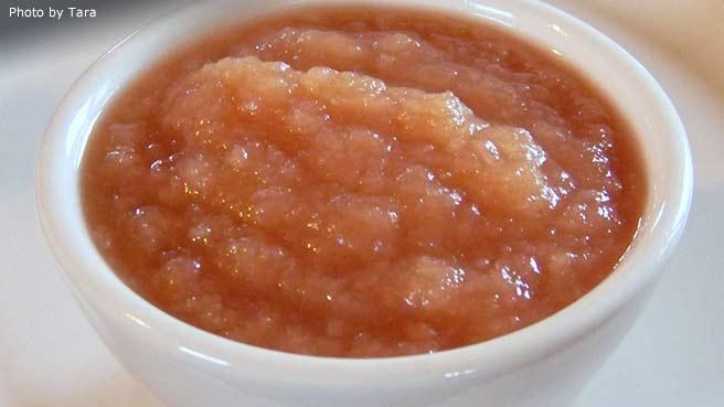 Sarah's Applesauce Recipe — Dishmaps