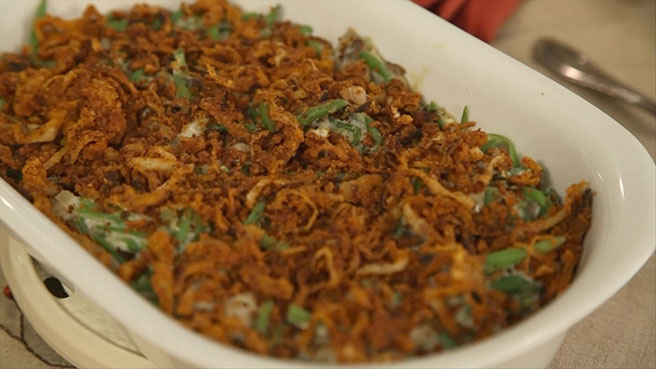 EatingWell Green Bean Casserole