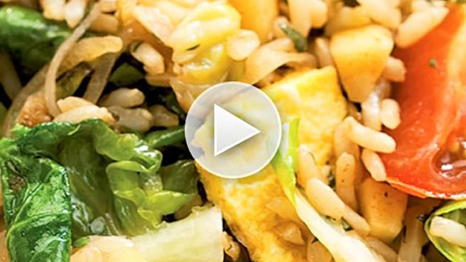 How to Make Vegetable Fried Rice Healthy